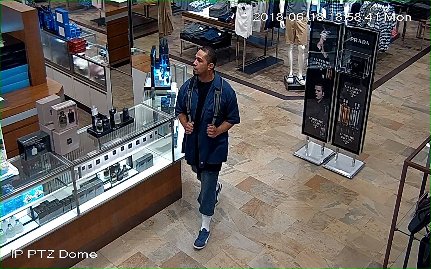 Murray theft. (Photo courtesy of Murray Police)