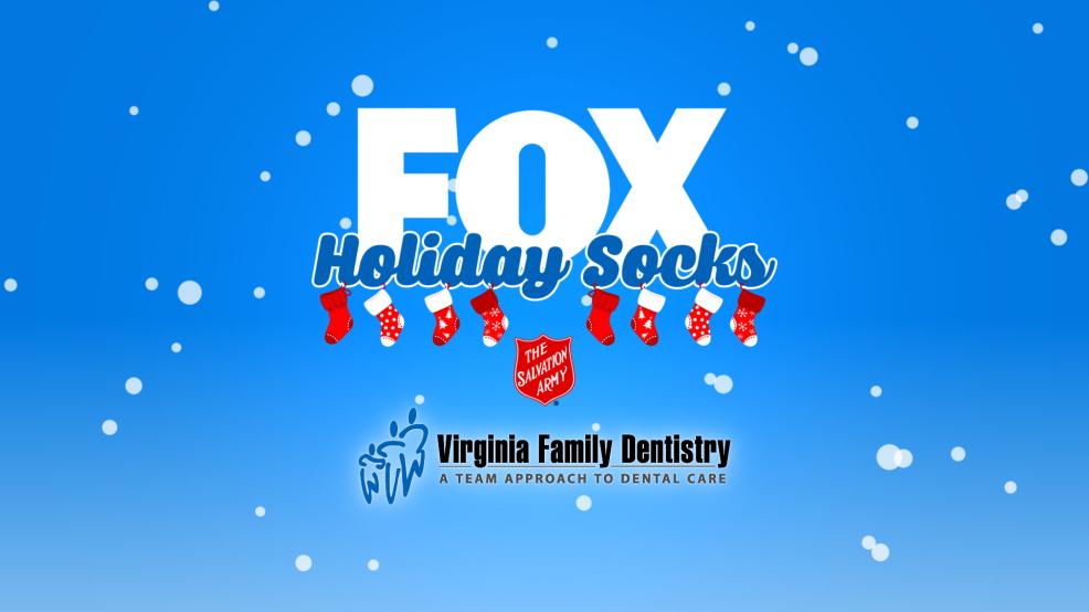 Richmond FOX Holiday Socks | News, Weather, Sports, Breaking News | WRLH