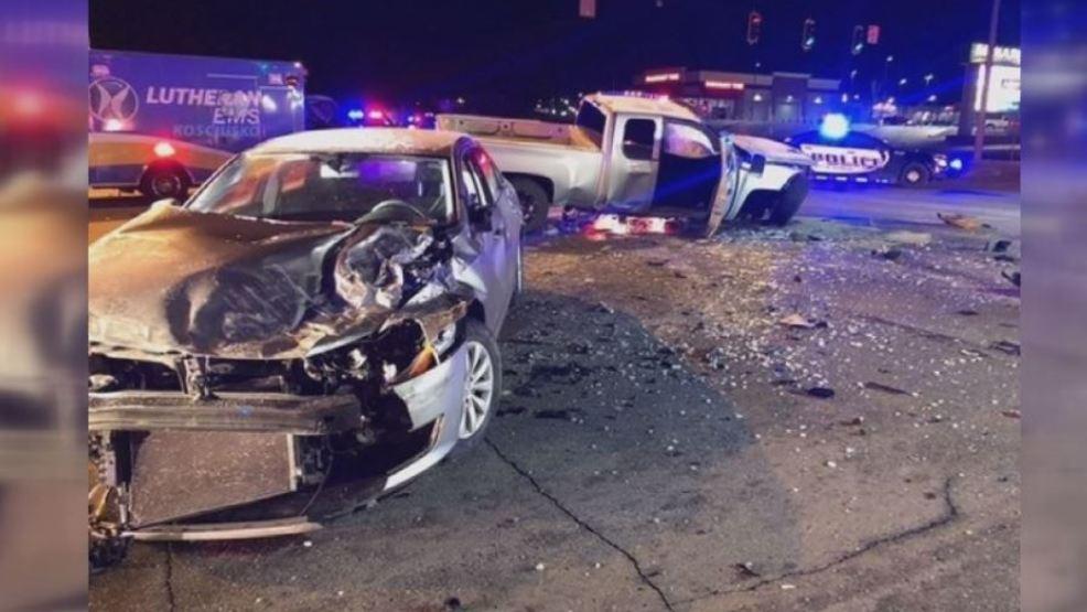 Car crash die in teen two
