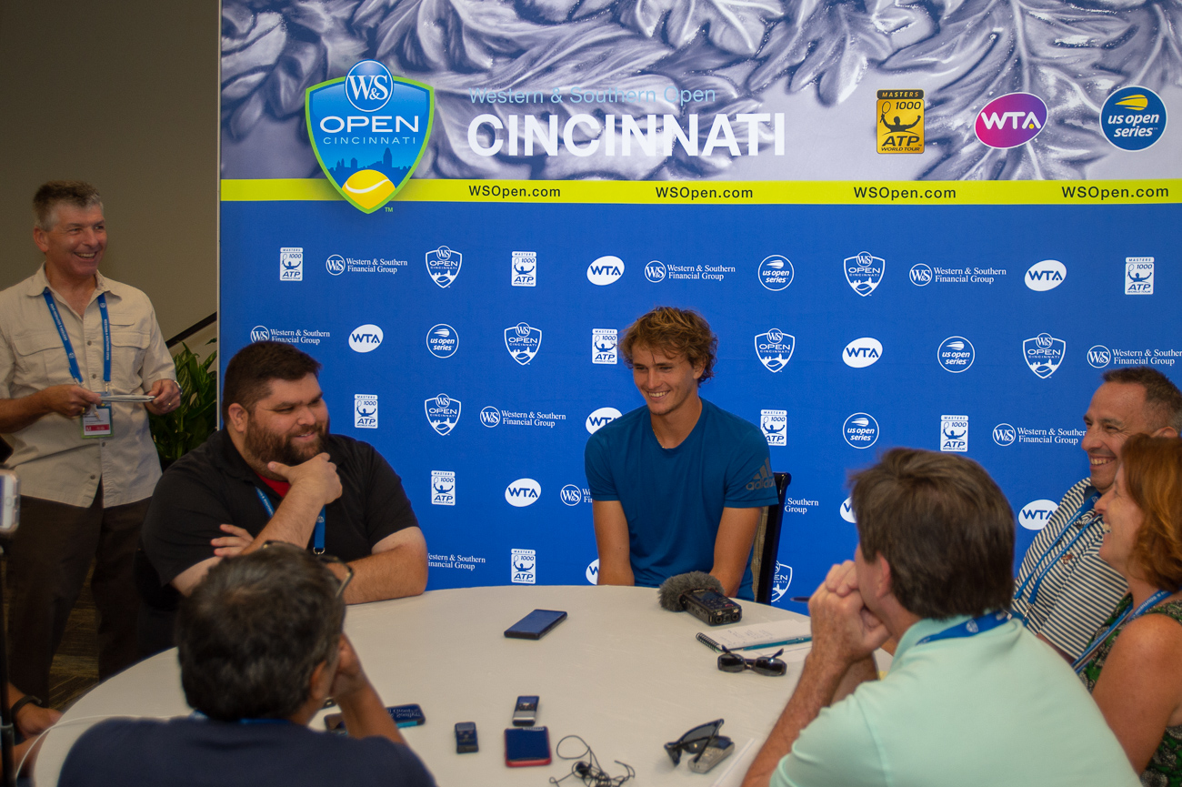 Alexander Zverev{ }/ Image: Chris Jenco // Published: 8.14.18