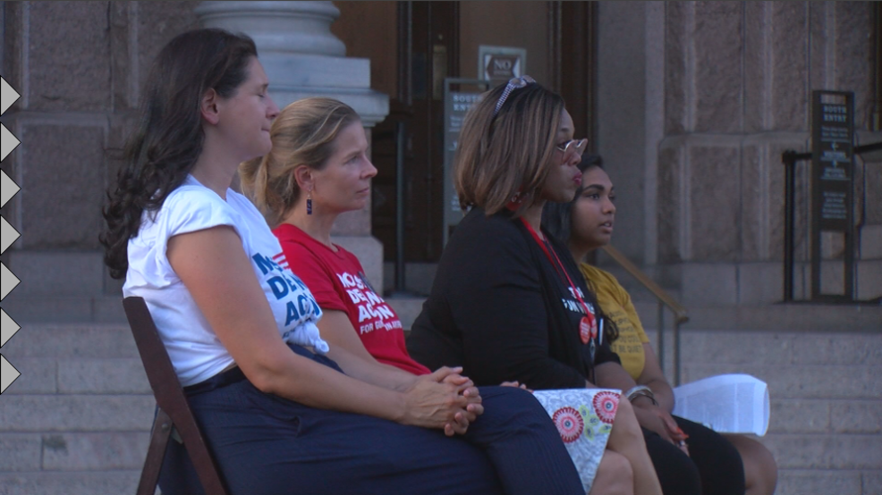 Moms Demand Action, Austin community rally against gun violence