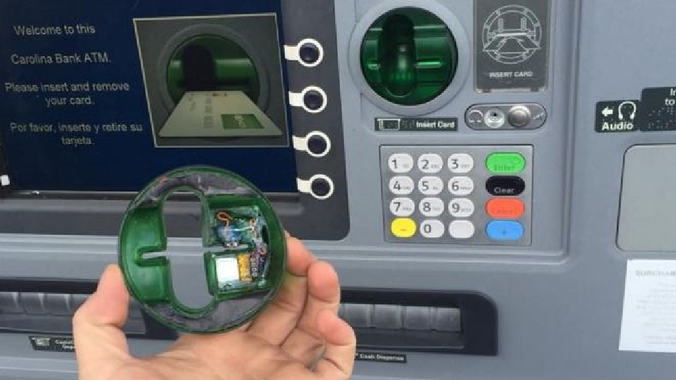 Alert resident tips police off to card skimming device on