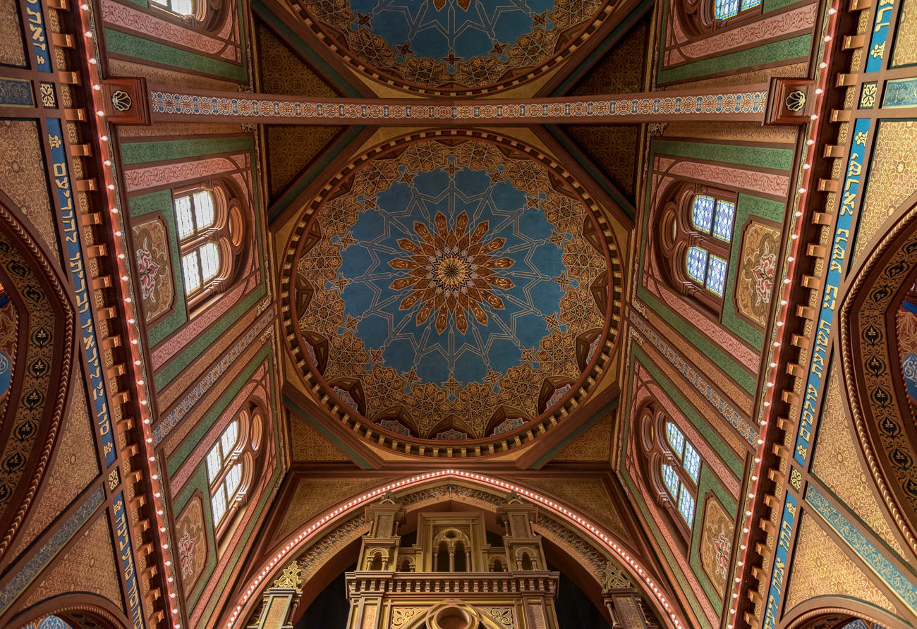 The Isaac M. Wise Temple was named for its rabbi when it was completed in 1866. The building was done in a Byzantine-Moorish style by architect James Keys Wilson. Today, it still serves as a regular house of worship. ADDRESS: 720 Plum Street (45202) / Image: Phil Armstrong, Cincinnati Refined // Published: 4.15.17