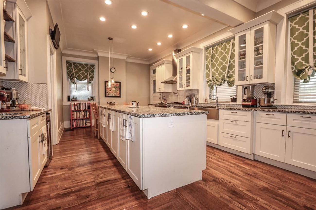 The kitchen includes a 12-foot island. / Image courtesy of Sibcy Cline // Published: 11.4.18