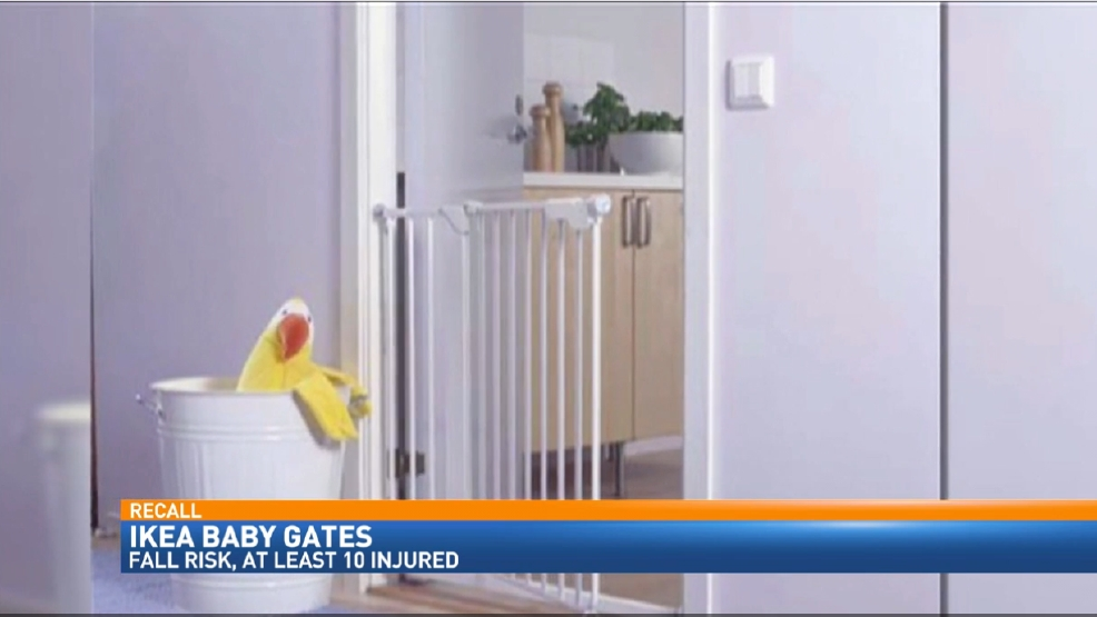 Ikea Issues Recall For 80 000 Baby Gates Katu