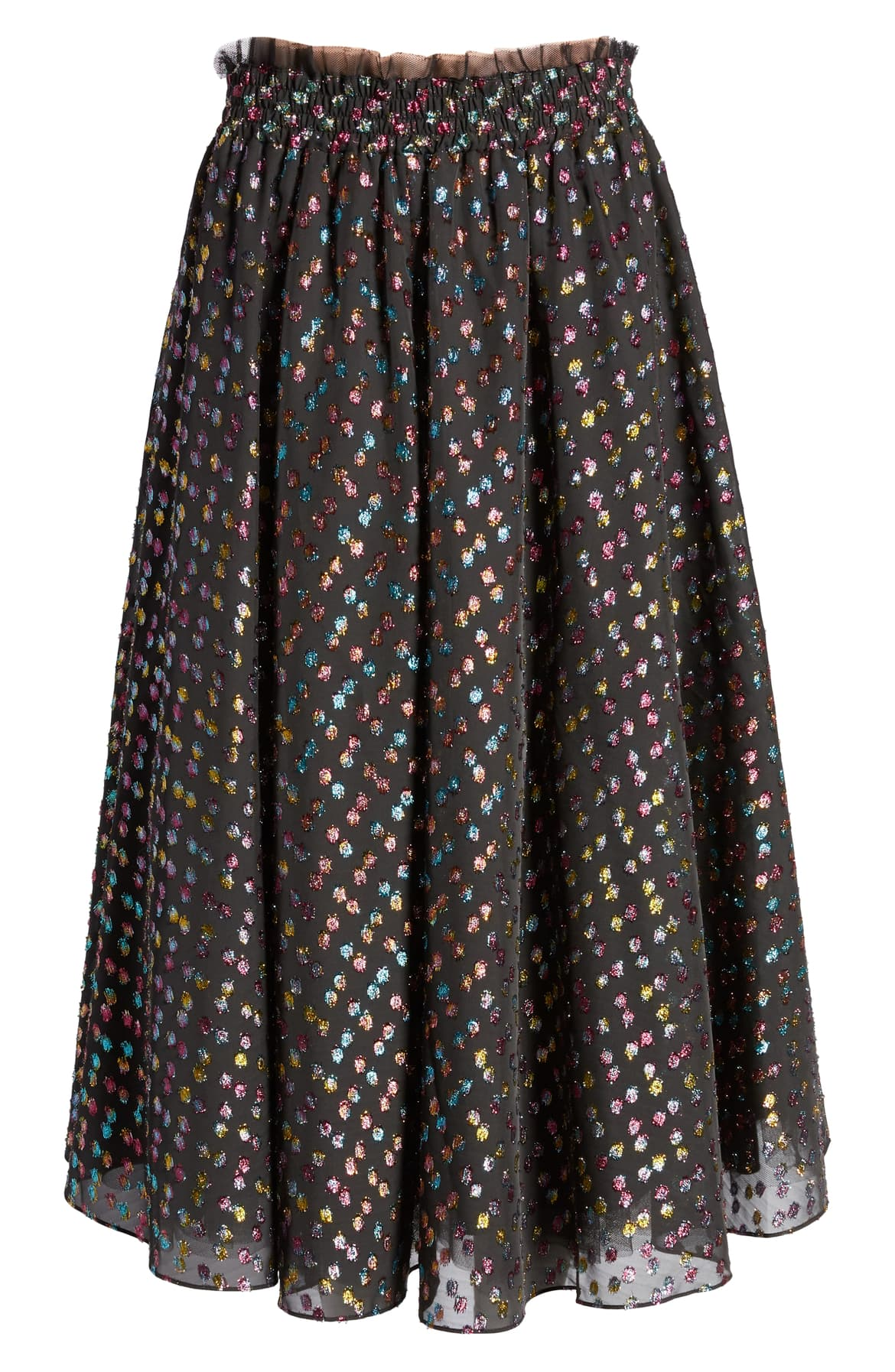 "<a  href=""https://shop.nordstrom.com/s/halogen-x-atlantic-pacific-rainbow-dot-full-skirt-nordstrom-exclusive/5356620/full?origin=keywordsearch-personalizedsort&breadcrumb=Home%2FAll%20Results&color=black-%20rainbow%20clip%20dot"" target=""_blank"" title=""https://shop.nordstrom.com/s/halogen-x-atlantic-pacific-rainbow-dot-full-skirt-nordstrom-exclusive/5356620/full?origin=keywordsearch-personalizedsort&breadcrumb=Home%2FAll%20Results&color=black-%20rainbow%20clip%20dot"">Halogen x Atlantic Pacific Rainbow Dot Full Skirt - $169</a>. From cozy to gold hued to tailored, Nordstrom has the hottest trends for getting glam this holiday season! (Credit: Nordstrom)"