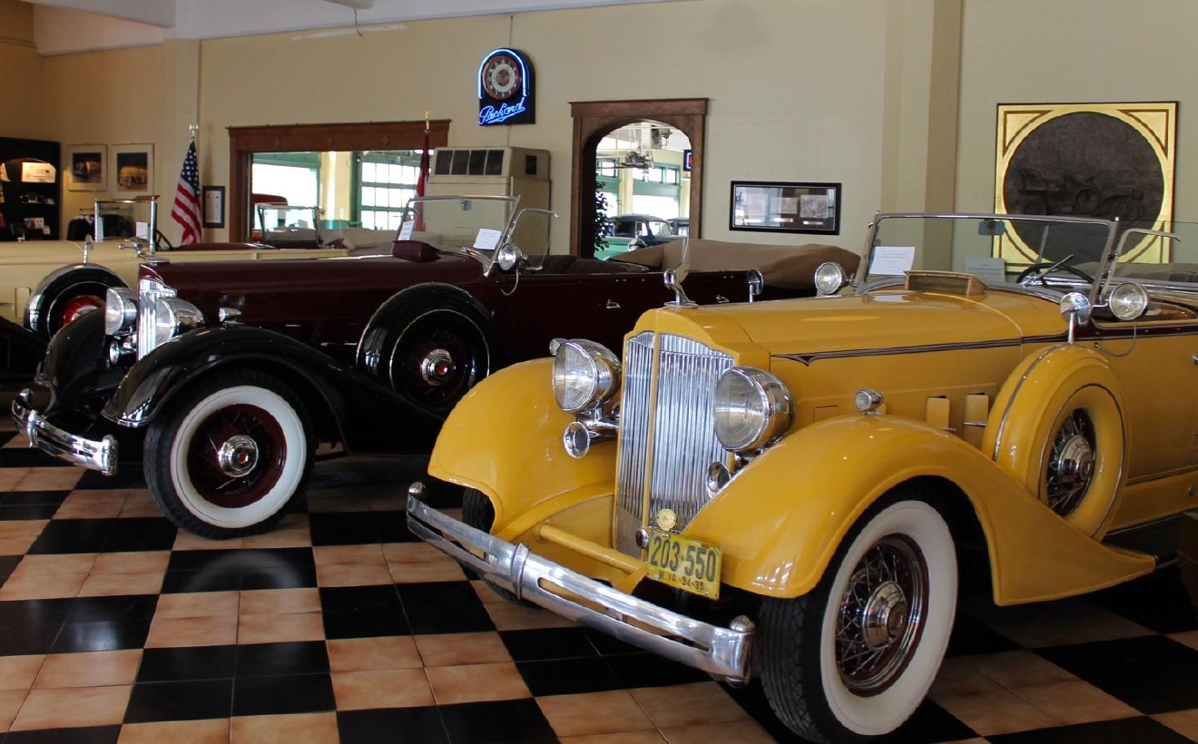 9. PLACE: America's Packard Museum / WHAT'S THERE: A bunch of old (yet super cool) cars in Dayton / DISTANCE: 53.9 miles / DRIVE TIME: 54 minutes / Image: Rose Brewington / PUBLISHED: 12.4.16