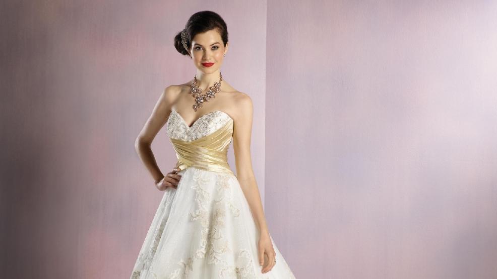 Photos: Designer debuts Disney inspired wedding dresses | KOMO